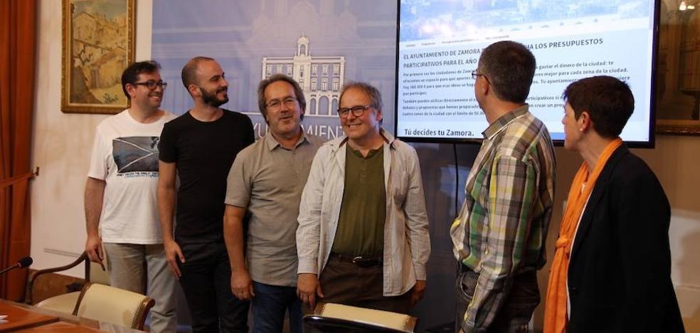 Arranca mañana la segunda fase de los presupuestos participativos del Ayuntamiento de Zamora