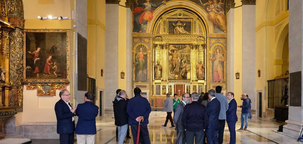 Recorre la nueva Iglesia de Las Angustias
