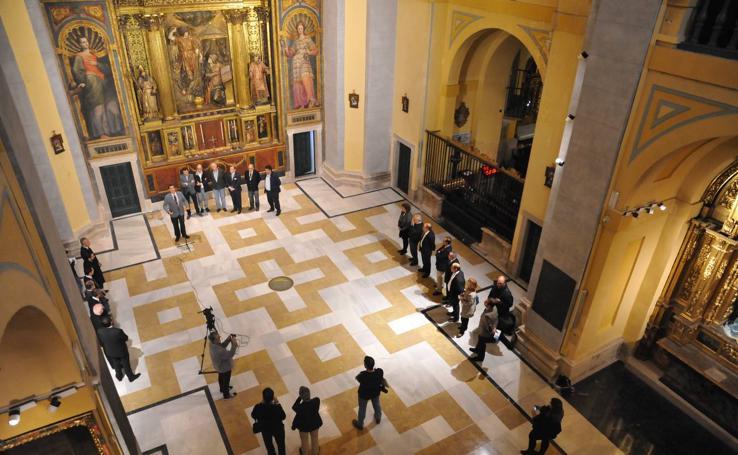 La iglesia de Las Angustias se renueva