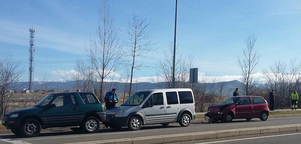 Cuatro accidentes con ocho turismos implicados en Segovia