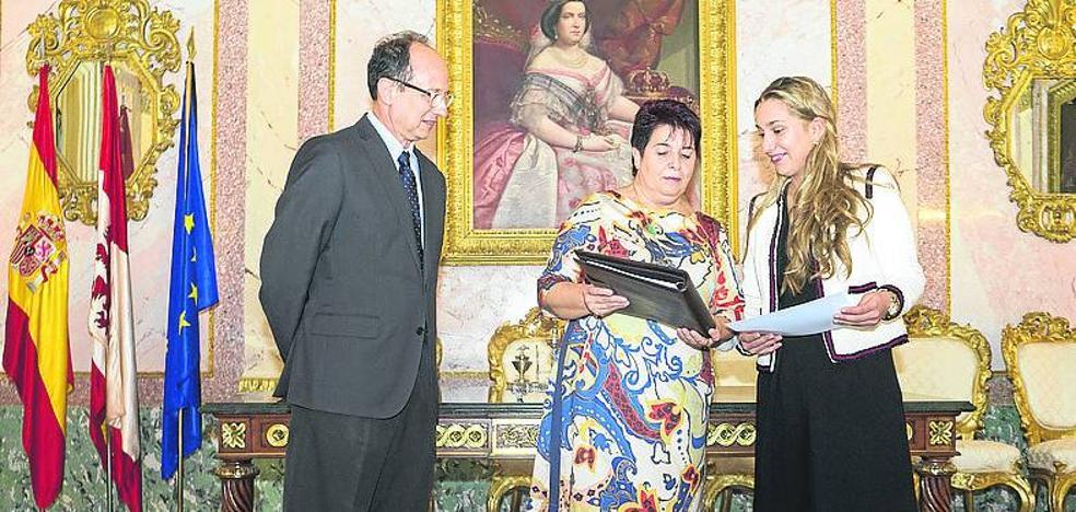 Antonella Carducci, nueva embajadora joven de Segovia