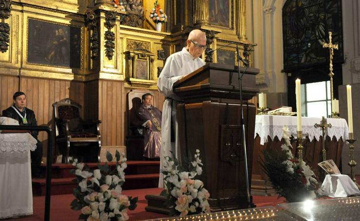 Misa funeral por el rector del Seminario de Valladolid