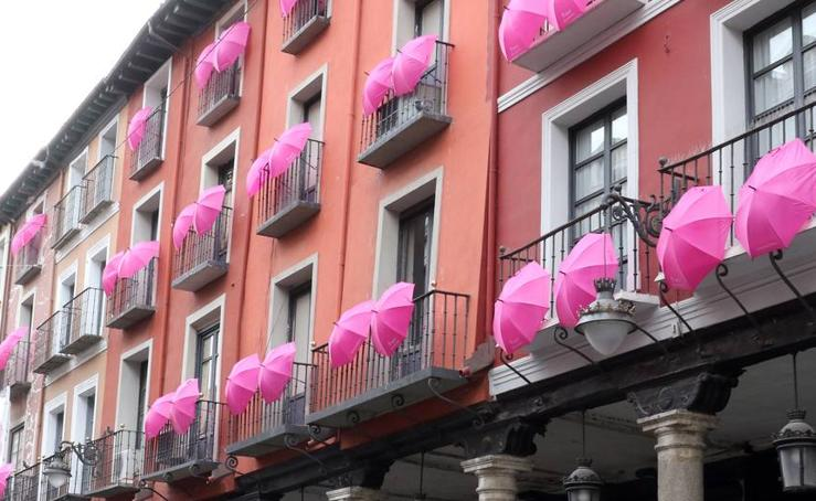 Valladolid se tiñe de rosa