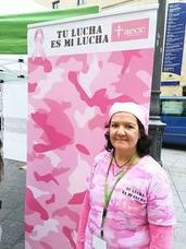 «Del cáncer de mama se sale, hay que lucharlo porque nadie puede levantarse por ti»