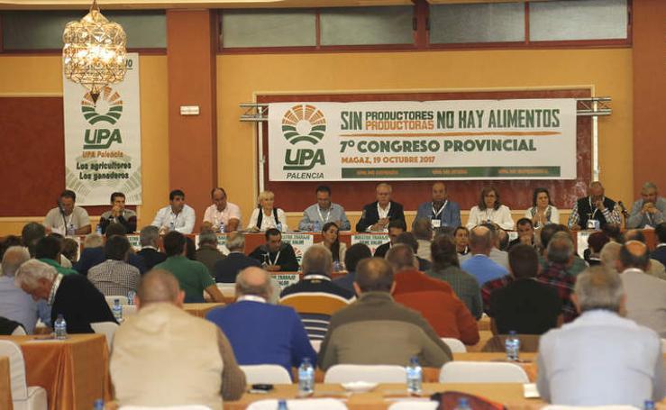 Congreso provincial de UPA en Magaz de Pisuerga (Palencia)