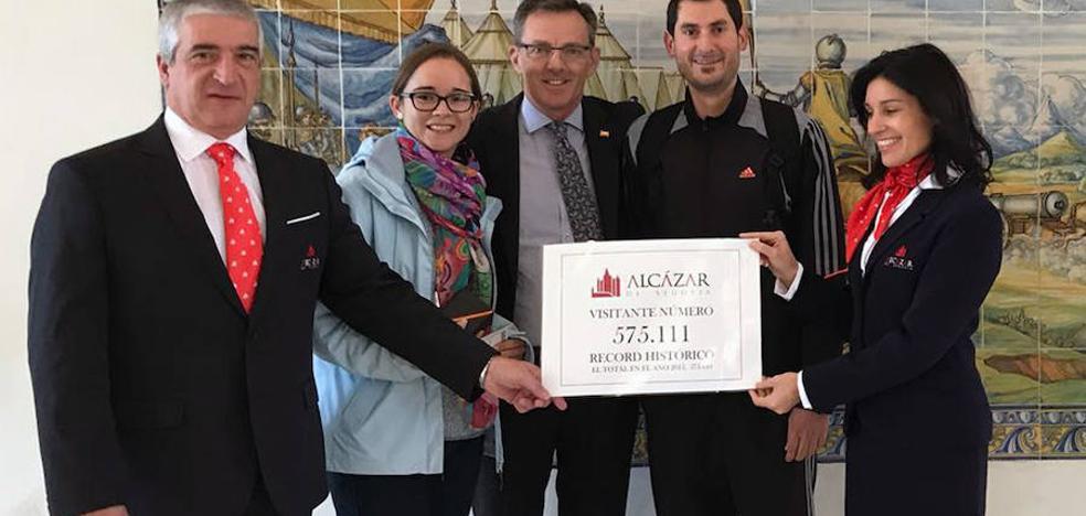 El Alcázar bate su récord de visitas a falta de 73 días de cerrar el año