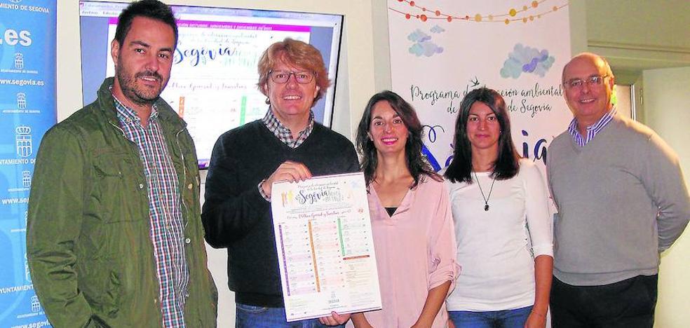 Segovia Educa en Verde ofrece 64 propuestas hasta finales de año