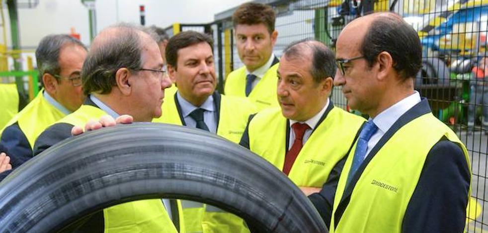 Herrera en el aniversario de Bridgestone: «las empresas no se deslocalizan por capricho»