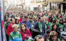 Más de 10.000 salmantinos saldrán este domingo a la calle para participar en la IV Marcha contra el Cáncer