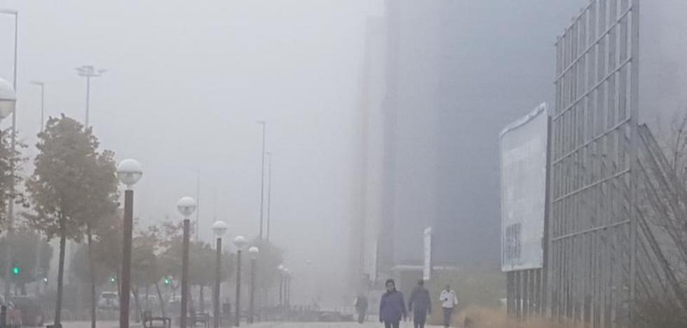Castilla y León amanece con niebla y las temperaturas más bajas de España