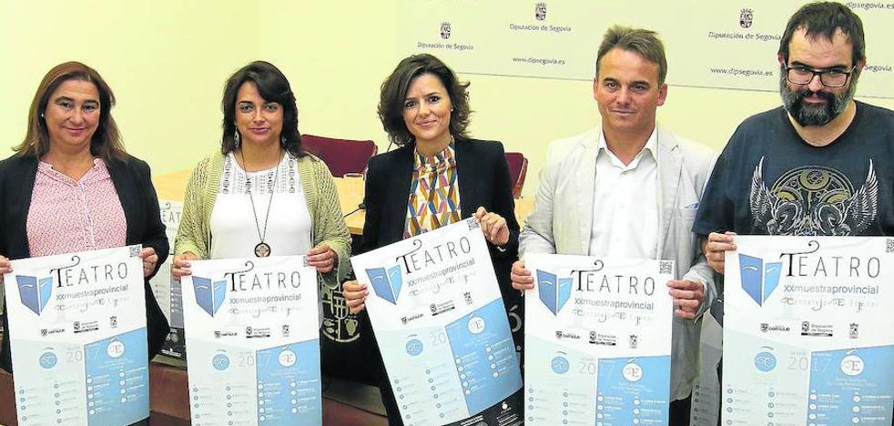 Cantalejo y El Espinar repetirán como escenarios de la Muestra de Teatro Aficionado