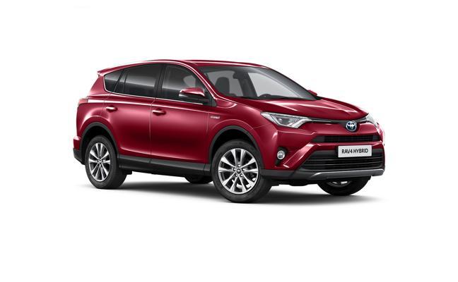 Nueva gama RAV4 de Toyota