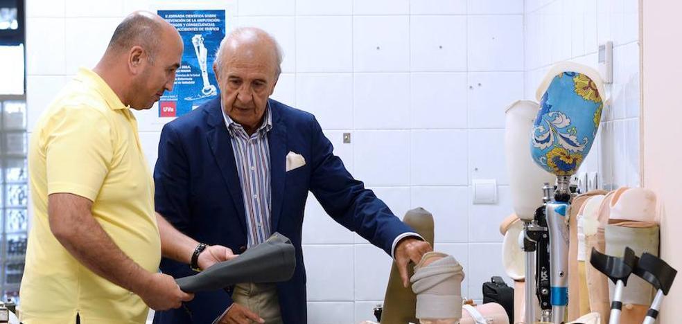 Valladolid abre el primer banco de prótesis para los refugiados