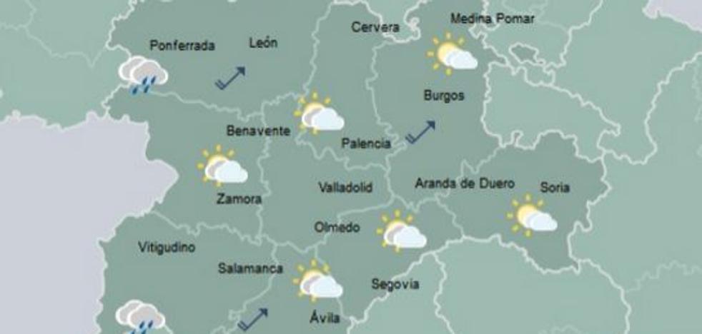 Soria registra la temperatura más baja del país