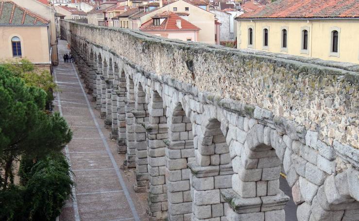 Desde lo alto del Acueducto de Segovia