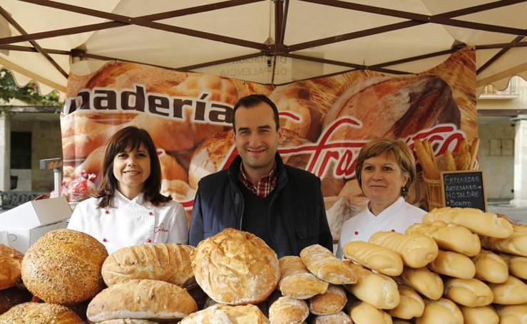Feria del pan en Palencia