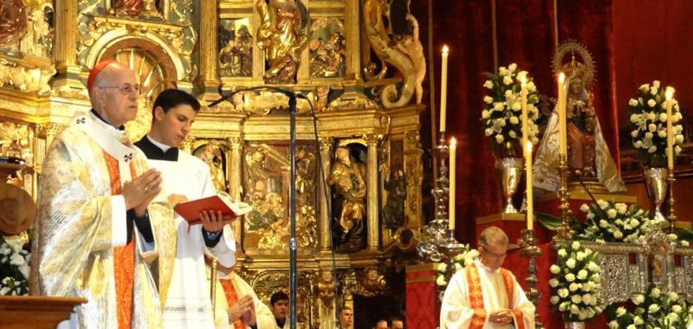 Blázquez pide la intercesión de la Virgen para abrir «horizontes de reconciliación, justicia y paz»