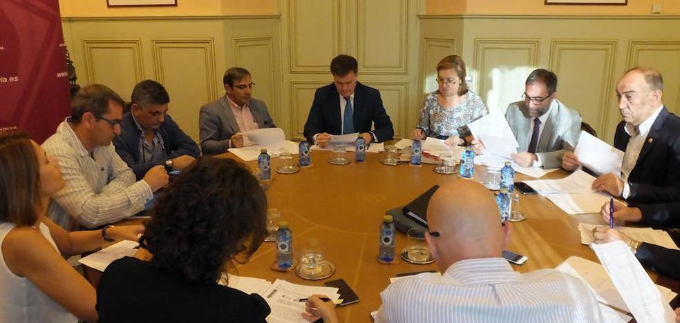 La Diputación ha anticipado a las mancomunidades 1,8 millones de euros