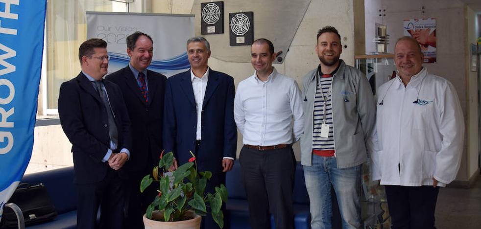 Ontex recibe la visita del embajador de Bélgica