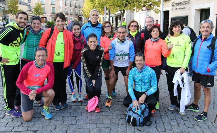Marcha Popular de Caja Rural a beneficio del Banco de Alimentos de Segovia