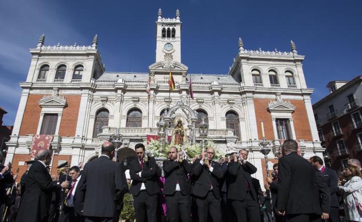 Procesión de la Virgen de San Lorenzo en Valladolid