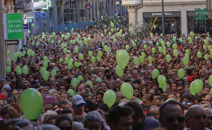 IV Marcha Contra el Cáncer de Salamanca