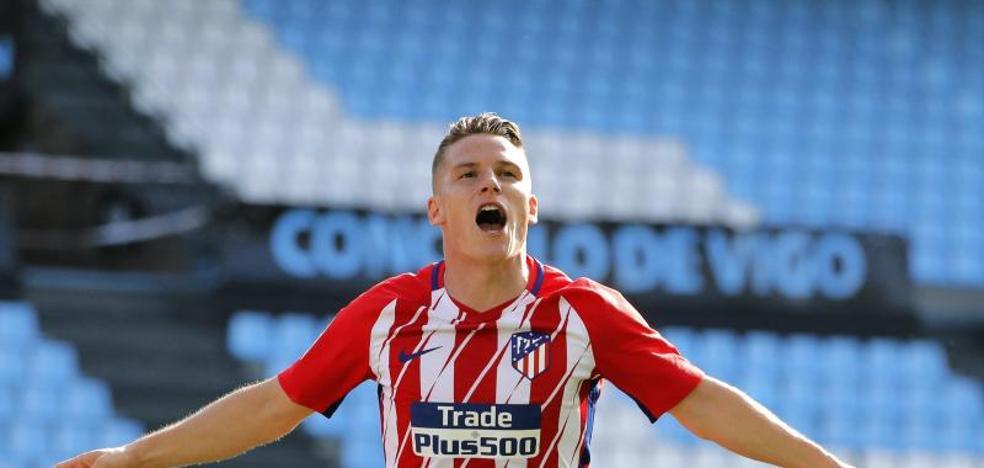 El balón parado rompe la mala racha del Atlético