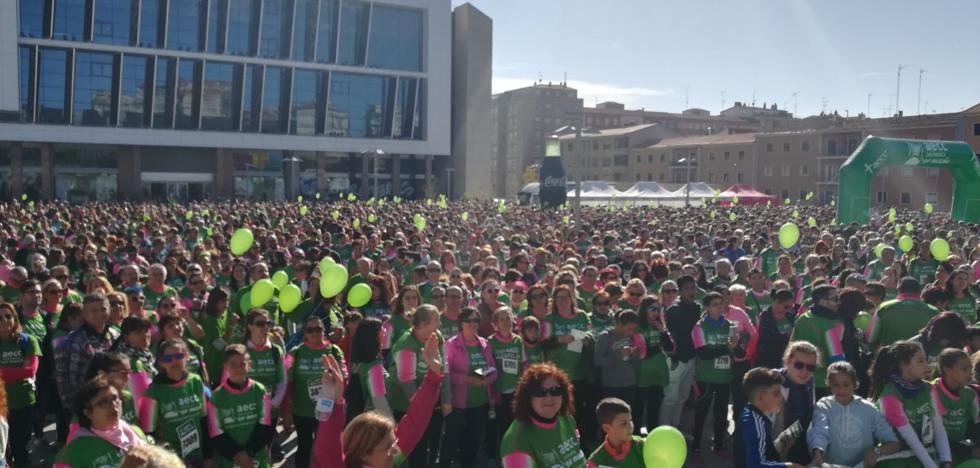 Cerca 14.000 personas en una Marcha contra el Cáncer de récord