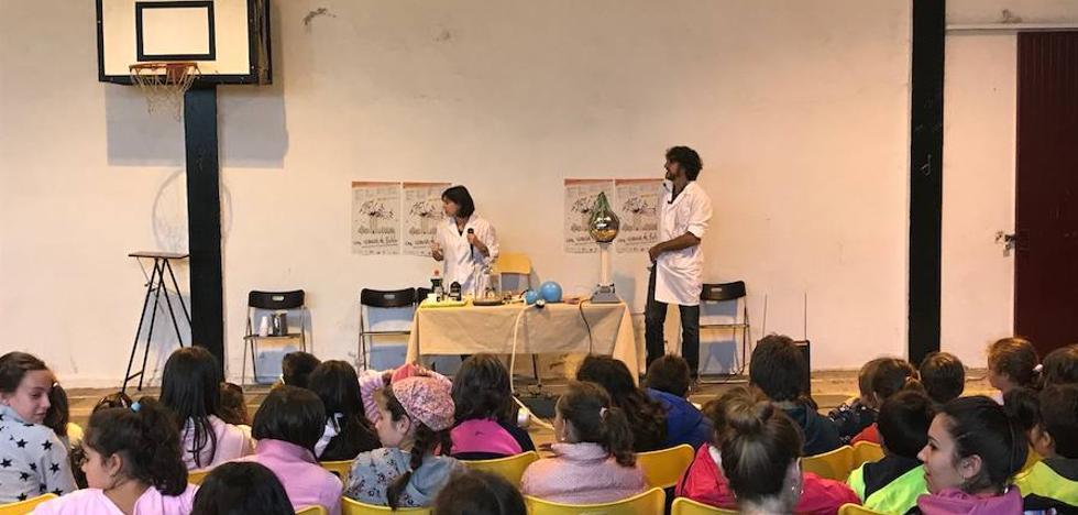'Con ciencia de pueblo' llega a 174 alumnos de la Sierra de Francia