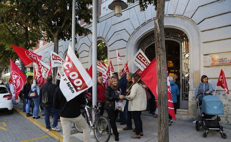 Protesta en Palencia para exigir cambios en la política forestal de la Junta