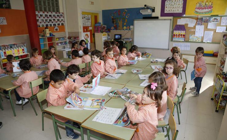 El colegio Sofía Tartilán de Palencia sopla 50 velas