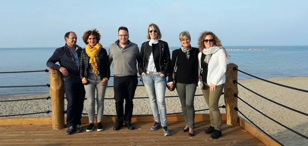 Frómista está presente en Italia en el proyecto Hericoast