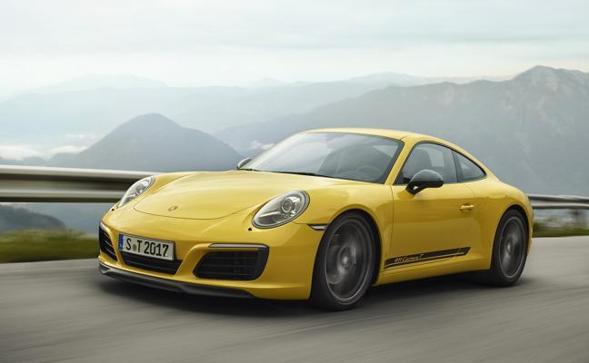 Porsche 911 Carrera T, deportividad por bandera