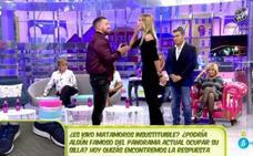Gran bronca en 'Sálvame' entre Alba Carrillo y Rafa Mora