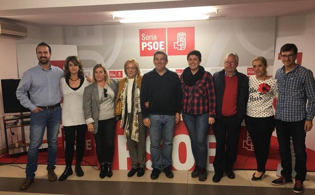 Javier Antón, nuevo secretario general de la Agrupación del PSOE de Soria 'Pedro Marrón'