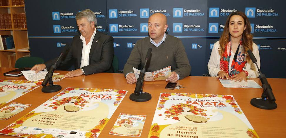 Herrera celebra este sábado la feria de la patata