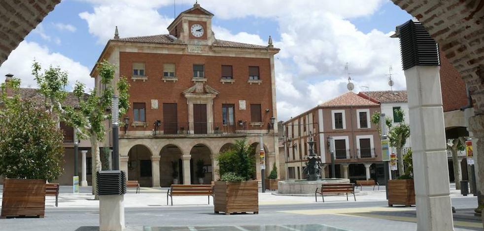 Robados seis locales de los entornos de la Plaza Mayor de Herrera de Pisuerga