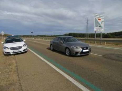 Los radares de tramo de las carreteras CL-613 y CL-615 ya multan