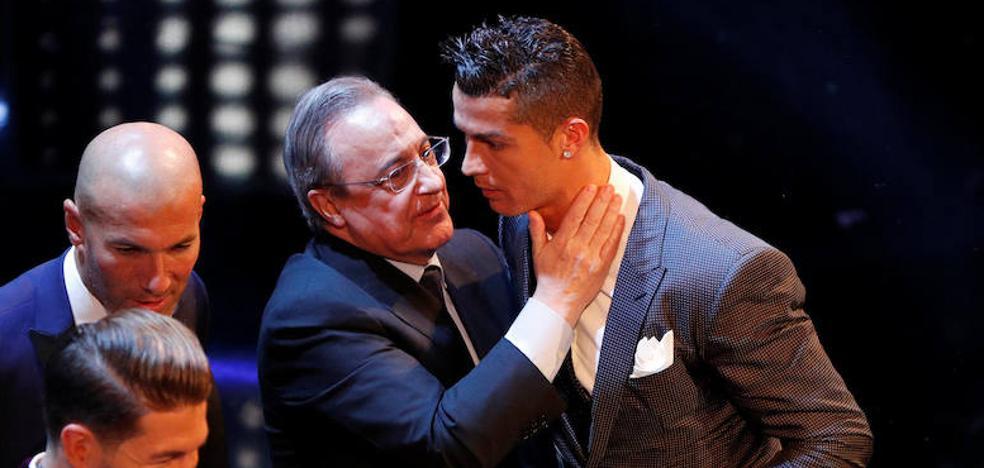 Florentino Pérez: «Cristiano está a la altura de lo que fue Alfredo Di Stéfano»
