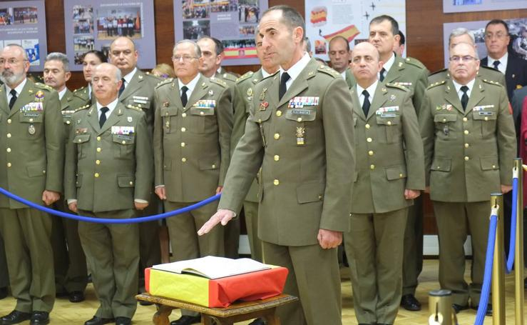 El coronel Vicente González toma posesión como nuevo delegado de Defensa