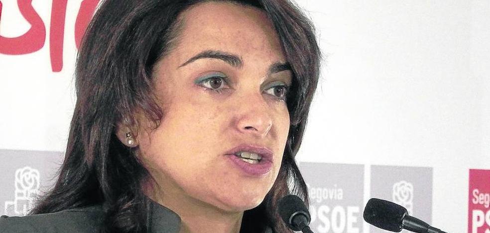 La alcaldesa de El Espinar pide medidas para desviar «ya» el tráfico de San Rafael