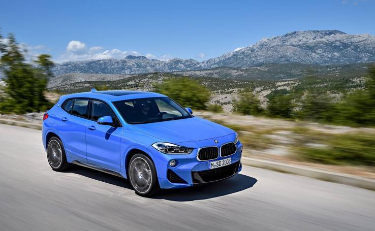 BMW X2, el benjamín de la gama en fotos