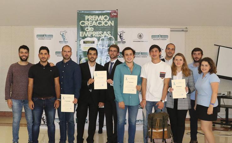 Entrega del X Premio Creación de Empresas de la Facultad de Comercio de Valladolid