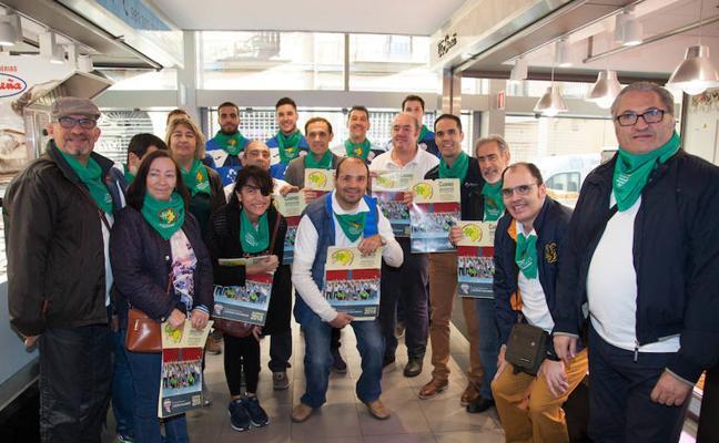 El Recoletas presenta el calendario solidario de la Asociación Camino