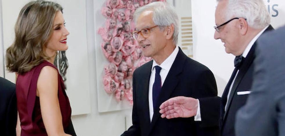 Letizia renueva sus votos con el periodismo