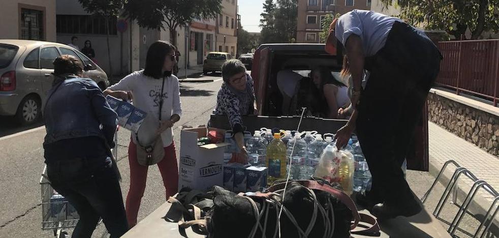 La solidaridad con los damnificados por el fuego pone rumbo a Portugal