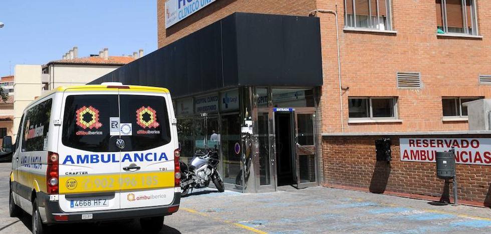 Un motorista resulta herido en un accidente en la calle Cánovas del Castillo