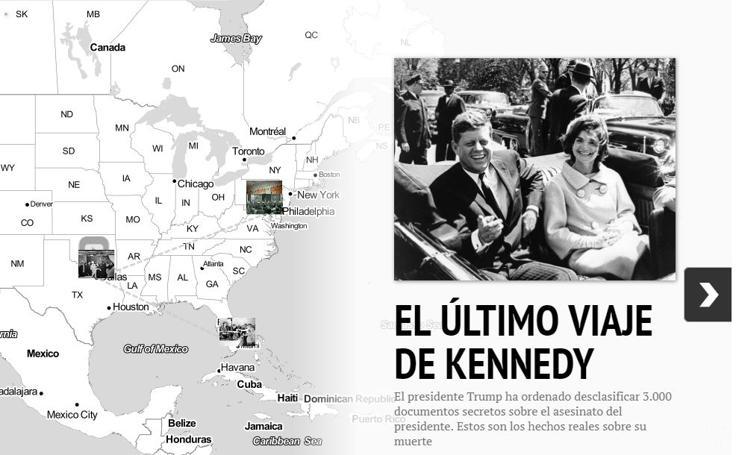 El último viaje de JFK