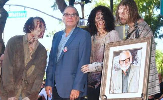 George A. Romero, el padre de los zombis, recibe su estrella póstuma