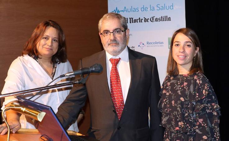 El doctor Carlos Disdier, en la Aulas de la Salud de El Norte de Castilla